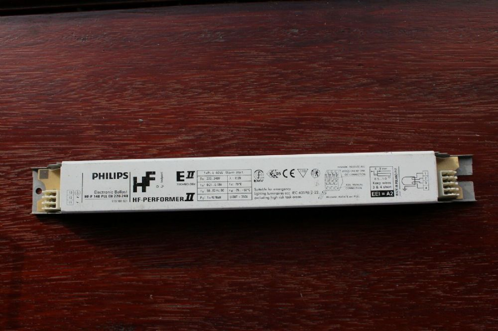 Philips Compact 40w Single High Frequency Ballast HF-P 140 PLL EII